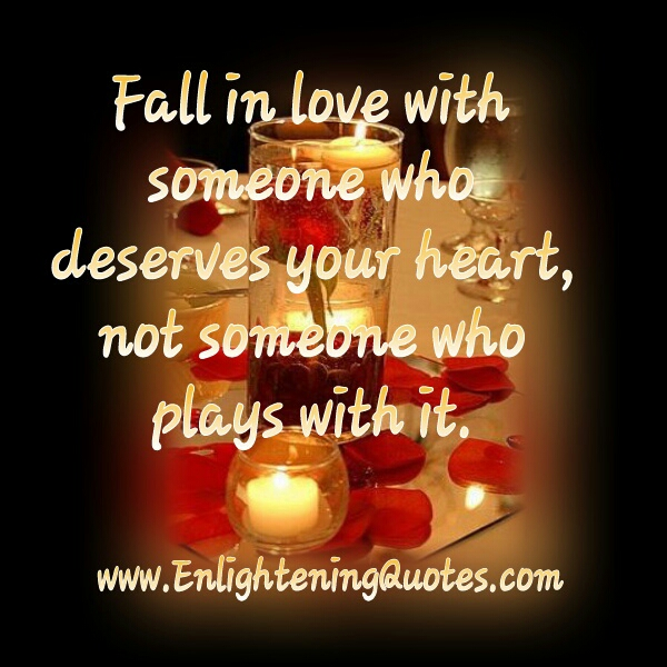 Fall in Love with someone