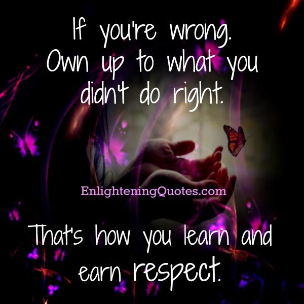 How you earn respect from people?