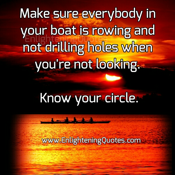 Know your Friends Circle