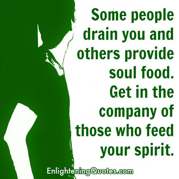 Some people drain you