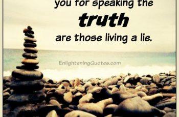 Enlightening Quotes Delectable Lie  Enlightening Quotes